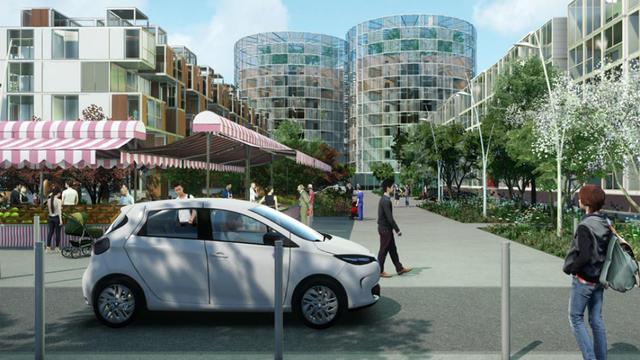 Le projet Astainable met en scène la capitale du Kazakhstan à l'horizon 2030.