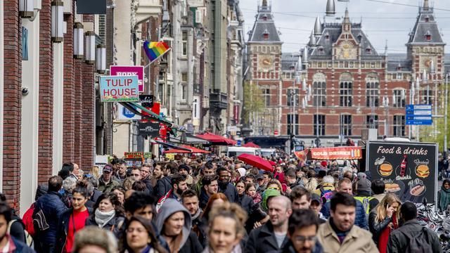 Amsterdam accueille chaque année 18 millions de touristes.