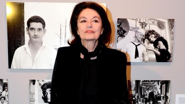 La comédienne Anouk Aimée, ici à une exposition sur Jacques Demy, est honorée au cinéma Mac-Mahon.La comédienne Anouk Aimée, ici à l'exposition Jacques Demy, est honorée au cinéma Mac-Mahon.