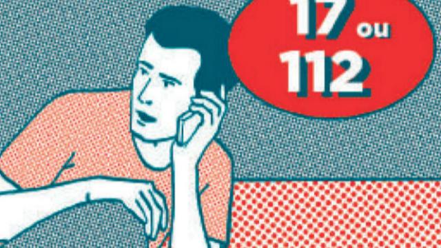 pour appeler les secours il faut composer le 17 ou le 112 capture dcran interieurgouvfr