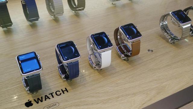 L'Apple Watch est vendue à partir de 399 euros en France.