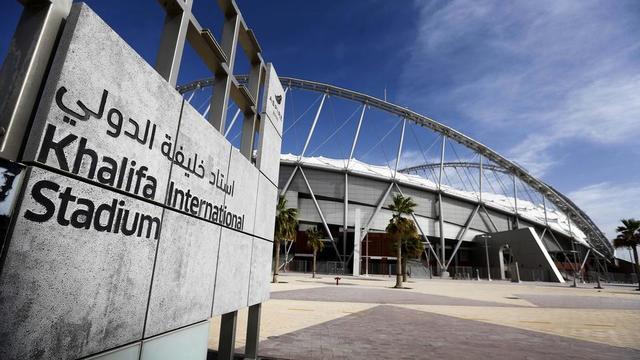 Le Khalifa Stadium a une capacité de 40.000 places.