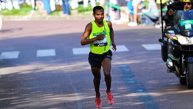 Kenenisa Bekele a ressenti une douleur au tendon à quinze kilomètres de l'arrivée.