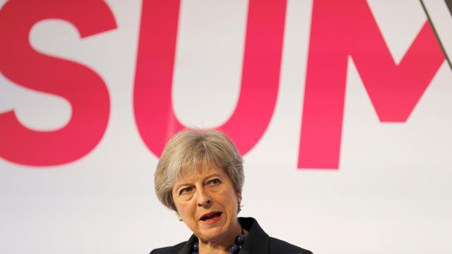 La Première ministre britannique à Londres le 19 septembre 2018. [Frank Augstein / POOL/AFP]