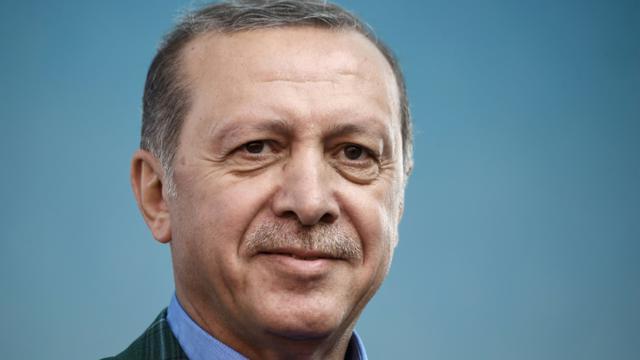 Le président turc Recep Tayyip Erdogan, le 15 avril 2017 à Istanbul [OZAN KOSE / AFP/Archives]