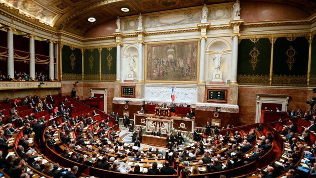 Vue générale de l'Assemblée nationale à Paris, le 30 novembre 2013 [BERTRAND GUAY / AFP/Archives]