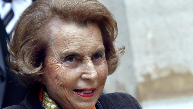 Liliane Bettencourt, le 12 octobre 2011, à Paris [François Guillot / AFP/Archives]