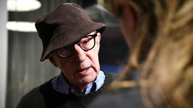Le réalisateur américain Woody Allen, le 14 novembre 2017 à New York [Dimitrios Kambouris / GETTY IMAGES NORTH AMERICA/AFP/Archives]