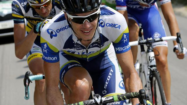 Le Sud-Africain Daryl Impey lors de la 15e étape du Tour de France 2013 entre Givors et le Mont Ventoux le 14 juillet 2013 [Joel Saget / AFP/Archives]