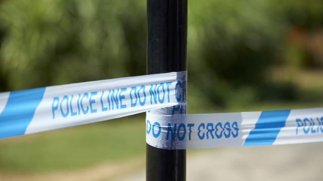 Deux hommes, dont un policier, et une femme ont été hospitalisés et recevaient des soins après avoir été blessés dans une attaque au couteau à Manchester [NIKLAS HALLE'N / AFP/Archives]
