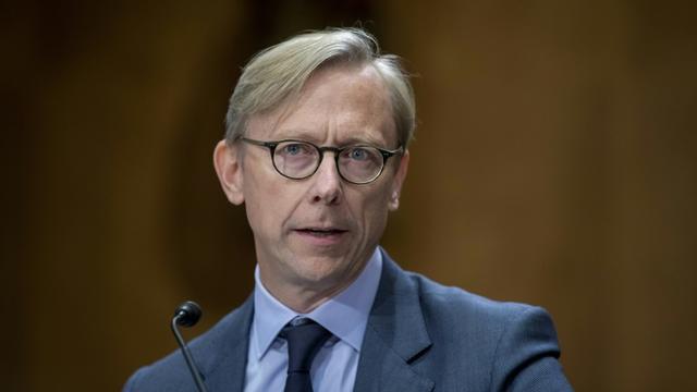 L'émissaire américain pour l'Iran Brian Hook, le 16 octobre 2019 à Washington [TASOS KATOPODIS / GETTY IMAGES NORTH AMERICA/AFP]