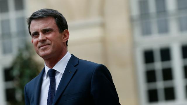 Manuel Valls à Matignon le 24 mars 2016 [THOMAS SAMSON / AFP/Archives]