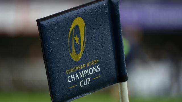 Logo de la Coupe d'Europe, lors d'un match de Montpellier face au Leinster, au stade Altrad de Montpellier, le 23 octobre 2016 [SYLVAIN THOMAS / AFP/Archives]