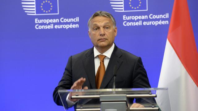 Le Premier ministre hongrois Viktor Orban, à Bruxelles le 3 septembre 2015 [THIERRY CHARLIER / AFP/Archives]