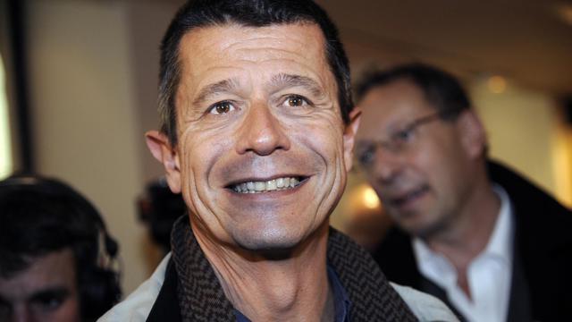 Emmanuel Carrère, le 2 novembre 2011 à Paris [Bertrand Guay / AFP]