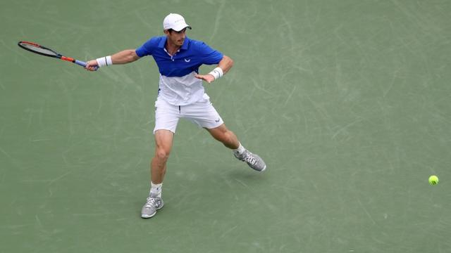 Le Britannique Andy Murray éliminé au premier tour du Masters 1000 de Cincinnati le 12 août 2019 [Rob Carr / GETTY IMAGES NORTH AMERICA/AFP]