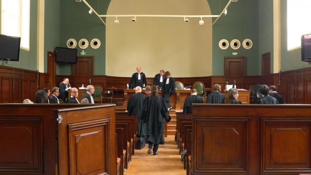 Une salle du palais de justice de Bordeaux [Mehdi Fedouach / AFP/Archives]