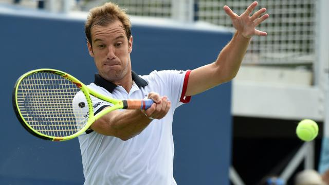 Richard Gasquet à l'US Open de tennis le 1er septembre 2015 à New York [JEWEL SAMAD / AFP/Archives]