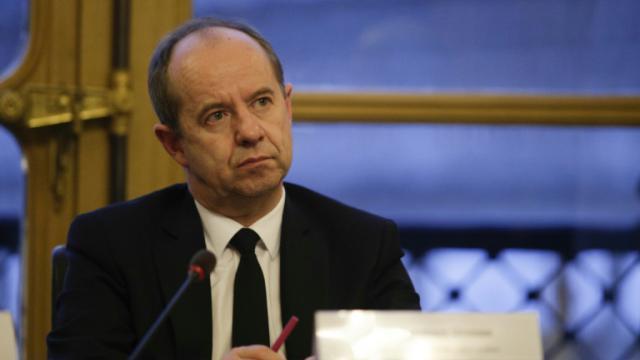 Le ministre de la Justice Jean-Jacques Urvoas le 26 février 2017 à Paris [GEOFFROY VAN DER HASSELT / AFP/Archives]