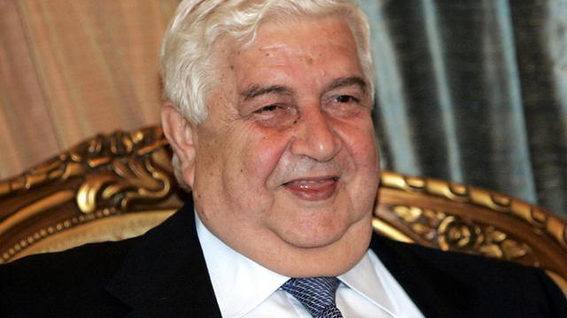 Le chef de la diplomatie syrienne Walid Mouallem le 25 mars 2009 à Bagdad [Ali Abbas / AFP/Archives]