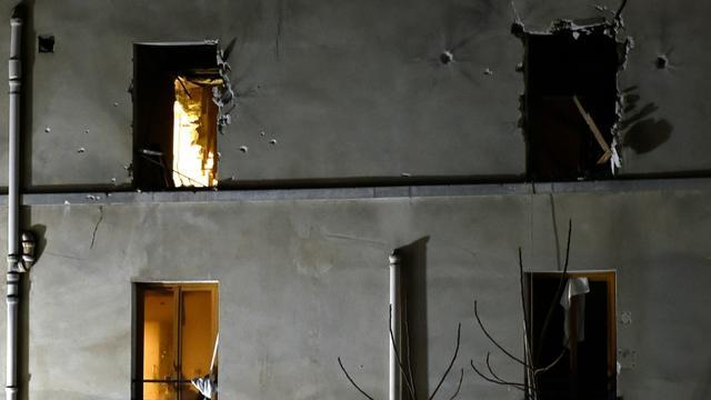 Vue du bâtiment attaqué par le RAID à Saint-Denis, le 18 novembre 2015 en proche banlieue parisienne  [ERIC FEFERBERG / AFP/Archives]