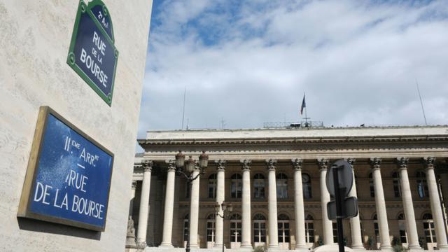 La Bourse de Paris [Eric Piermont / AFP]