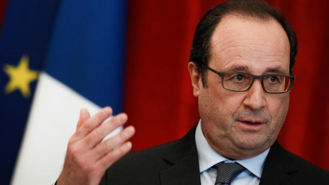 François Hollande le 23 janvier 2016 à Colmar [Cugnot Mathieu / POOL/AFP]