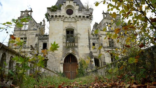 Le château de La Mothe-Chandeniers, le 3 novembre 2017 aux Trois-Moutiers, dans le Poitou. [GUILLAUME SOUVANT / AFP/Archives]