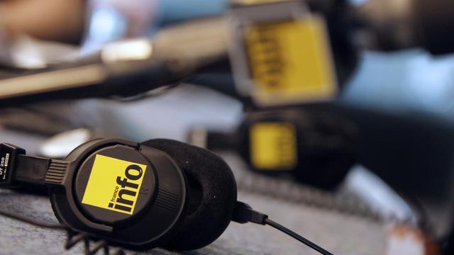 Pour redresser son audience, France Info remanie profondément sa grille de rentrée [Kenzo Tribouillard / AFP/Archives]