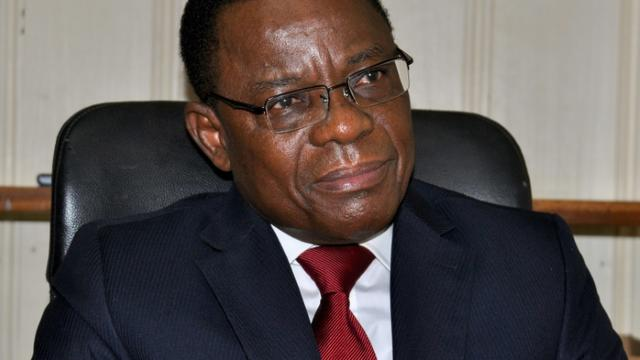 L'opposant camerounais Maurice Kamto photographié le 14 août 2018.  [Reinnier KAZE / AFP/Archives]