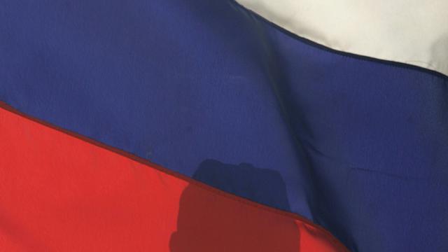 Deux obus ont frappé l'ambassade de Russie à Damas au moment où débutait une manifestation pour remercier Moscou pour son intervention militaire [Mikhail Mordasov / AFP/Archives]