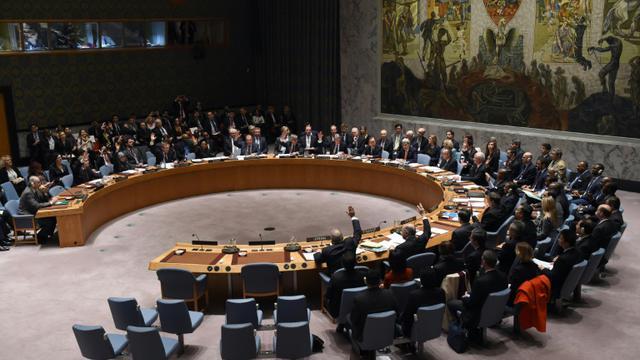 Le Conseil de sécurité de l'Onu réuni le 18 décembre 2015 à New York [TIMOTHY A. CLARY / AFP/Archives]