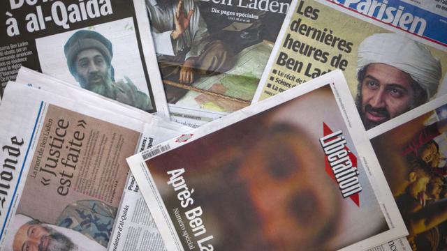 Unes de la presse après la mort de Ben Laden.