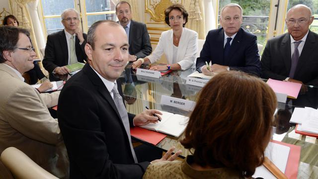 Laurent Berger attend encore des avancées lors du débat à l'Assemblée.