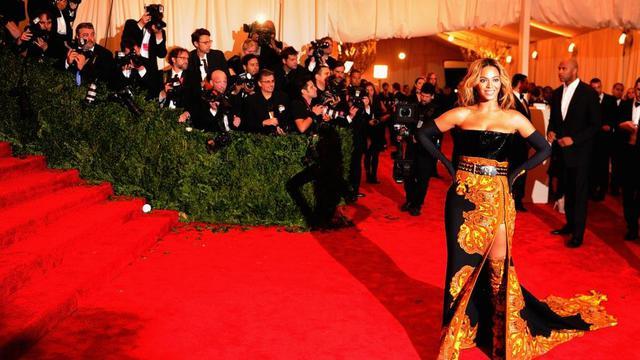 """Beyoncé, lors de son apparition au """"Met"""" le 9 mai"""