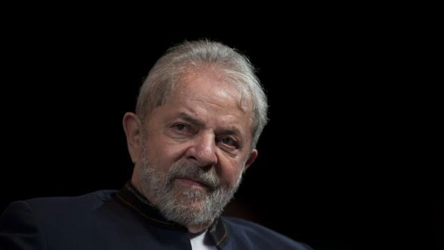 L'ex-président brésilien Luiz Inacio Lula da Silva, le 16 janvier 2018 à Rio de Janeiro [Mauro PIMENTEL / AFP/Archives]