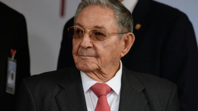 Le président cubain Raul Castro à Caracas le 5 mars 2018 [FEDERICO PARRA / AFP/Archives]