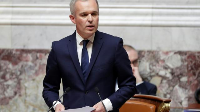 François de Rugy à l'Assemblée nationale, le 20 juin 2018 [Thomas SAMSON / AFP/Archives]