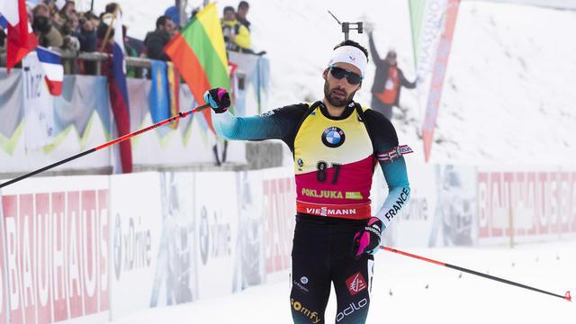 Martin Fourcade a remporté l'Individuel d'ouverture de la saison à Pokljuka.