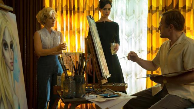 "Amy Adams, Krysten Ritter et Christoph Waltz dans ""Big Eyes"" de Tim Burton."