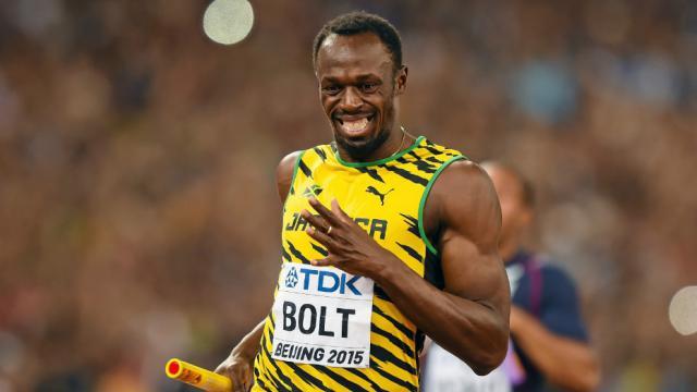 Usain Bolt détient le record du monde du 100m en 9''58.
