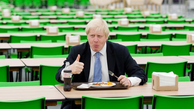 Boris Johnson a beau s'orienter vers une alimentation plus saine, il n'en reste pas moins addict au fromage.