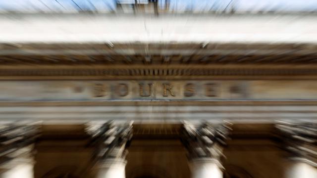 La Bourse de Paris.