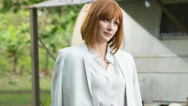 "Bryce Dallas Howard tient le rôle principal de ""Jurassic World""."