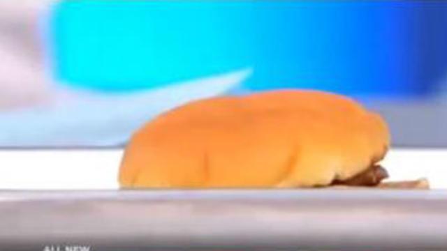 Un hamburger vieux de 14 ans.
