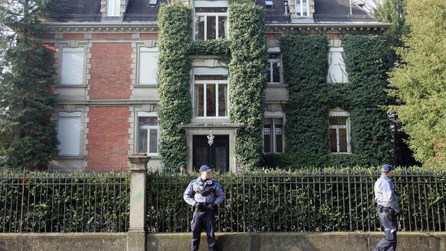 Le musée de la collection Buehrle à Zurich le 12 février 2008 après un hold-up  [Nicholas Ratzenboeck / AFP]