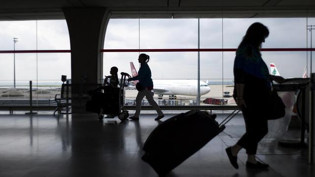 L'aéroport parisien de Roissy [Fred Dufour / AFP/Archives]