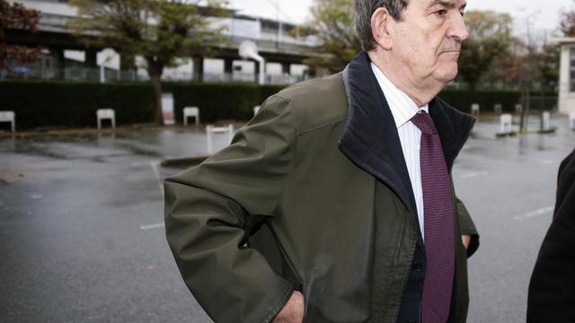 L'ex-juge antiterroriste Jean-Louis Bruguière, le 21 septembre 2001 à Toulouse [Pascal Pavani / AFP]