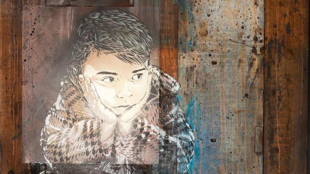 Une cinquantaine d'artistes sont représentés au Crédit municipal de Paris, dont C215.