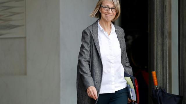 La ministre de la Culture Françoise Nyssen à Paris le 25 octobre 2017 [Patrick KOVARIK / AFP/Archives]